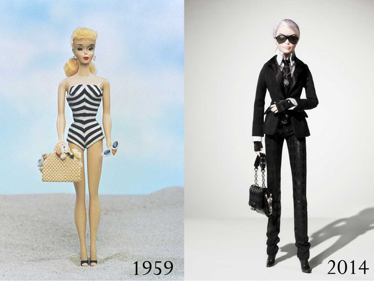 Barbie-then-and-now