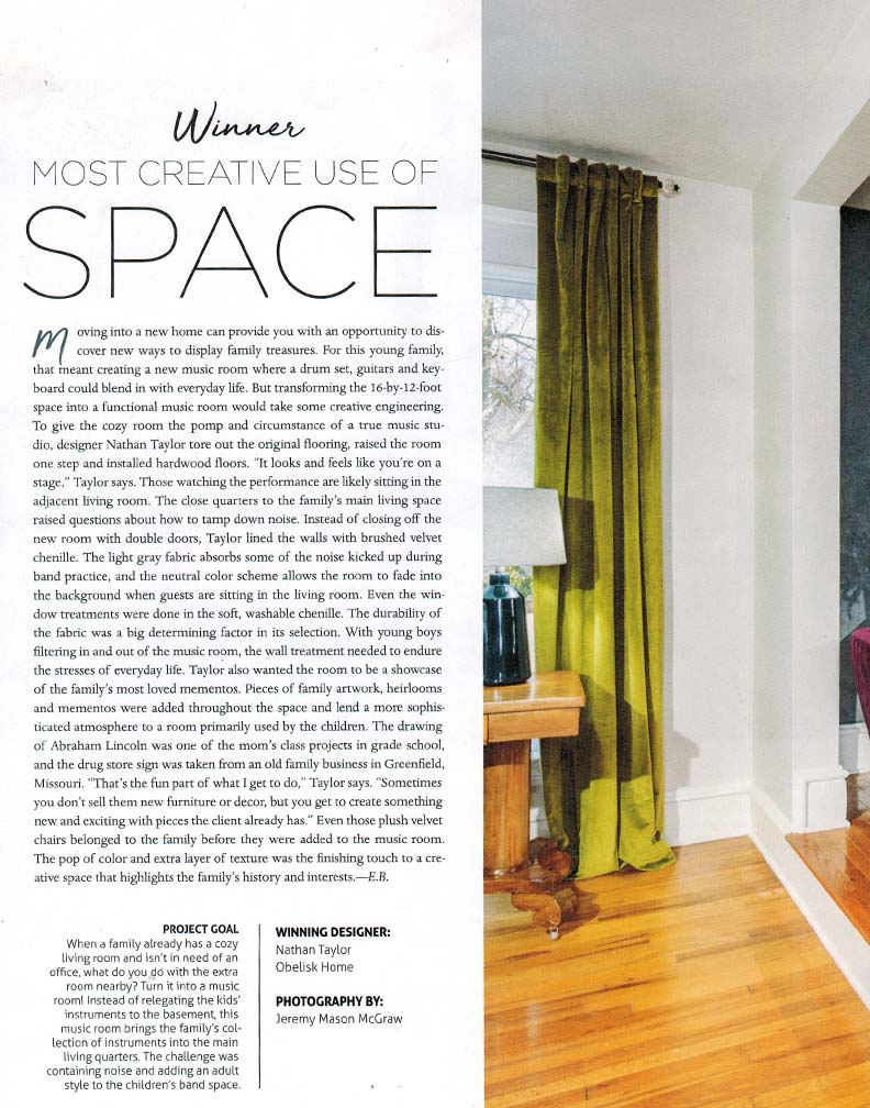 interior design home awards article