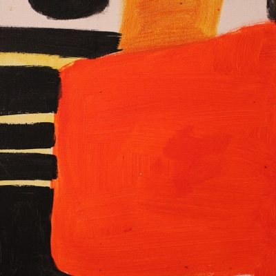 Orange Abstract, Stephanie Cramer