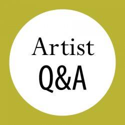 Artist Q&A obelisk home buttons