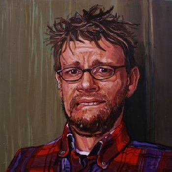 local artist jared gillet portrait
