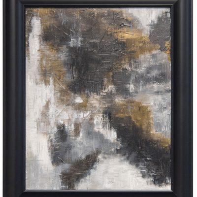Erosion, framed
