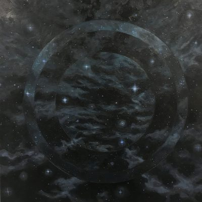 Star Gate by Christie Snelson, Group Blackout Show 2019, Obelisk Home, OH Gallery