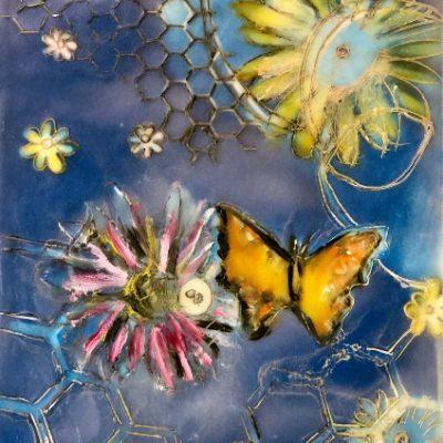 Cyan Butterfly, Kat Allie