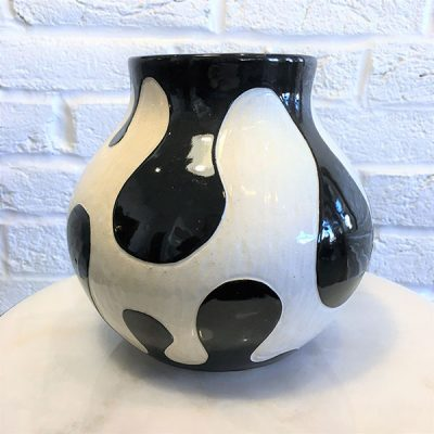 Drips Vase by Kendle Durde, Group Blackout Show 2019, Obelisk Home, OH Gallery