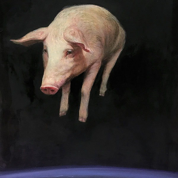 When Pigs.., Brad Noble Show Playing In the Light 2020, Obelisk Home, OH Gallery
