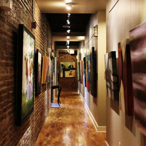 oh gallery hallway