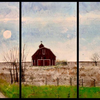 Anderson's Barn, T.D. Scott Show Similitude, Obelisk Home, OH Gallery