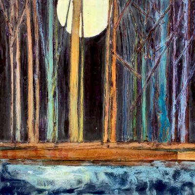 Moonscape, T.D. Scott Show Similitude, Obelisk Home, OH Gallery