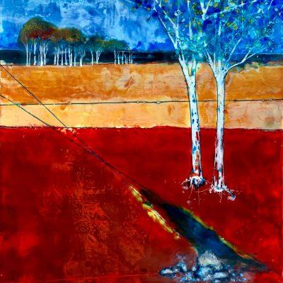 Red Brook, T.D. Scott Show Similitude, Obelisk Home, OH Gallery