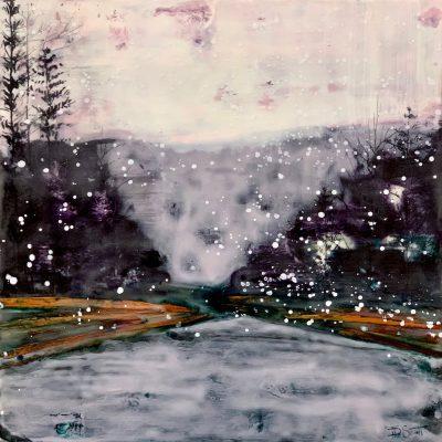 Roaring River Snowfall, T.D. Scott Show Similitude, Obelisk Home, OH Gallery