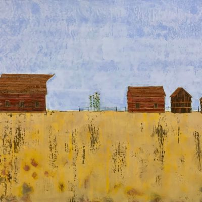 Through the Wheat Field, T.D. Scott Show Similitude, Obelisk Home, OH Gallery