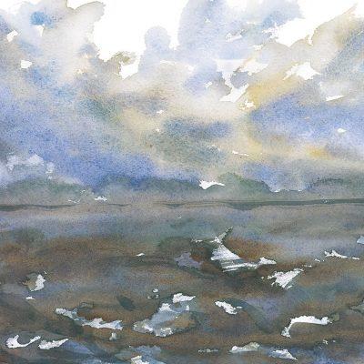 An Awakening Wind I by Karen Schneider, Obelisk Home, OH Gallery