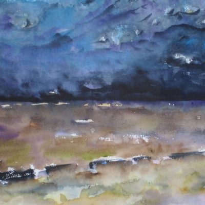 Another Storm to Drown Your Cares by Karen Schneider, Obelisk Home, OH Gallery