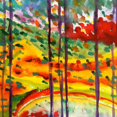 Autumn Splendor by Karen Schneider, Obelisk Home, OH Gallery