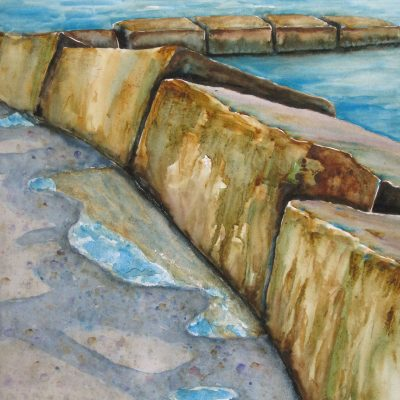 Breakwater by Karen Schneider, Obelisk Home, OH Gallery