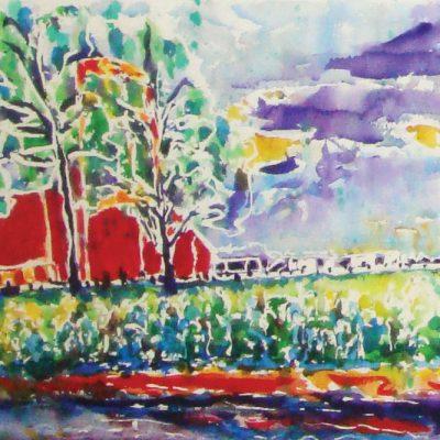 Bruce Peninsula Hay Barnr by Karen Schneider, Obelisk Home, OH Gallery