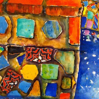 Catalina Tiles by Karen Schneider, Obelisk Home, OH Gallery