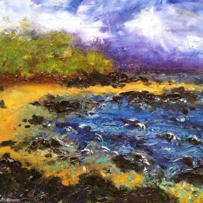 Kona Coast by Karen Schneider, Obelisk Home, OH Gallery