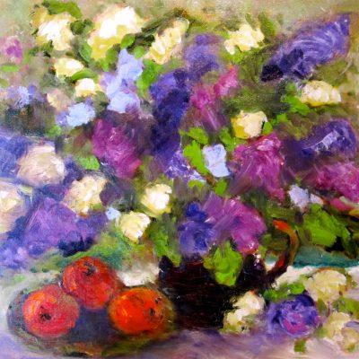 Lilacs by Karen Schneider, Obelisk Home, OH Gallery
