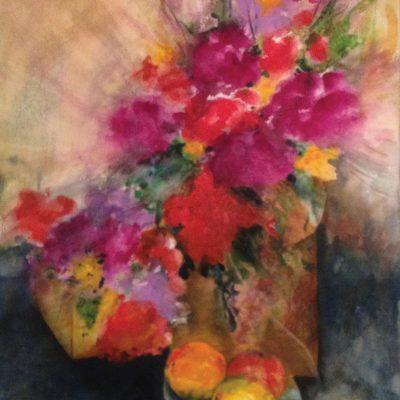 Magenta Floral by Karen Schneider, Obelisk Home, OH Gallery