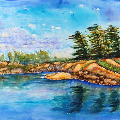 McGregor Bay Canada by Karen Schneider, Obelisk Home, OH Gallery