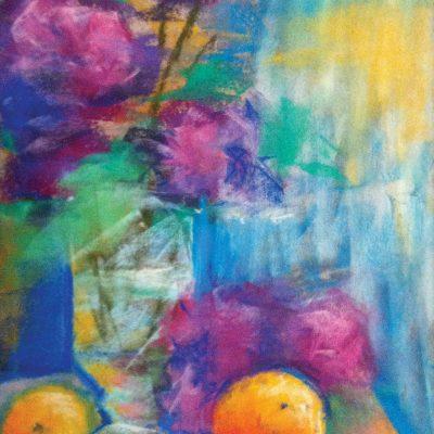 Papayas and Mangos by Karen Schneider, Obelisk Home, OH Gallery