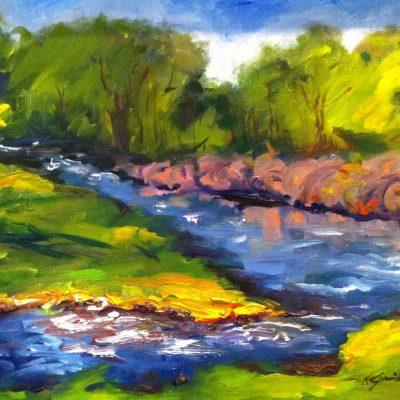 Pearson Creek by Karen Schneider, Obelisk Home, OH Gallery