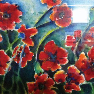 Poppies by Karen Schneider, Obelisk Home, OH Gallery