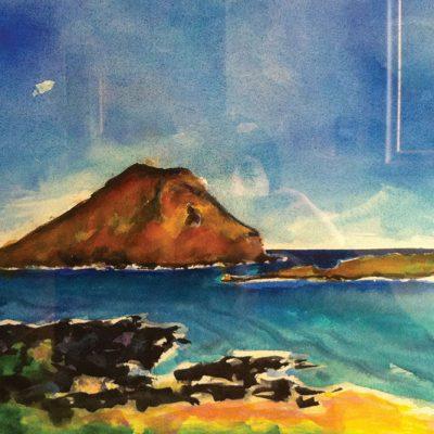 Rapid Island by Karen Schneider, Obelisk Home, OH Gallery