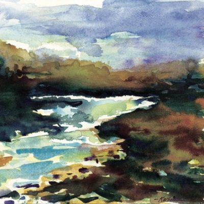 River Trace by Karen Schneider, Obelisk Home, OH Gallery
