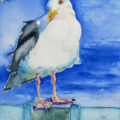 Still Your Feathers Mate by Karen Schneider, Obelisk Home, OH Gallery