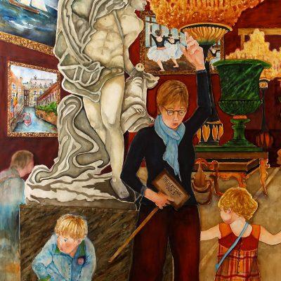 The Hermitage Tour by Karen Schneider, Obelisk Home, OH Gallery