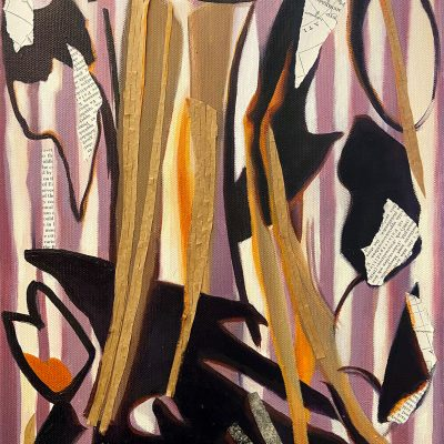 Brush Fire After Lee Krasner by Christie Snelson