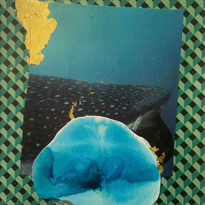 G(u)ilt Whale Fish I by Meganne Rosen