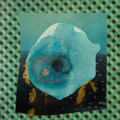G(u)ilt Whale Fish II by Meganne Rosen