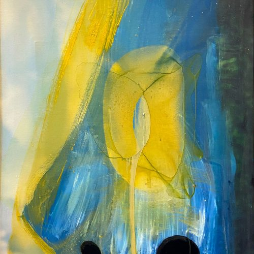 Averted Vision by Meganne Rosen, Ephemeris, Obelisk Home Gallery